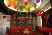 Helyum Gazlı Balon Süsleme