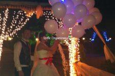 Düğün Organizasyonu Işıklı Uçan Balon