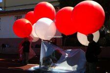 Helyum Gazlı Büyük Uçan Balon
