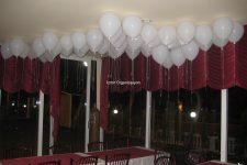 Maytaplı Uçan Balon Süsleme