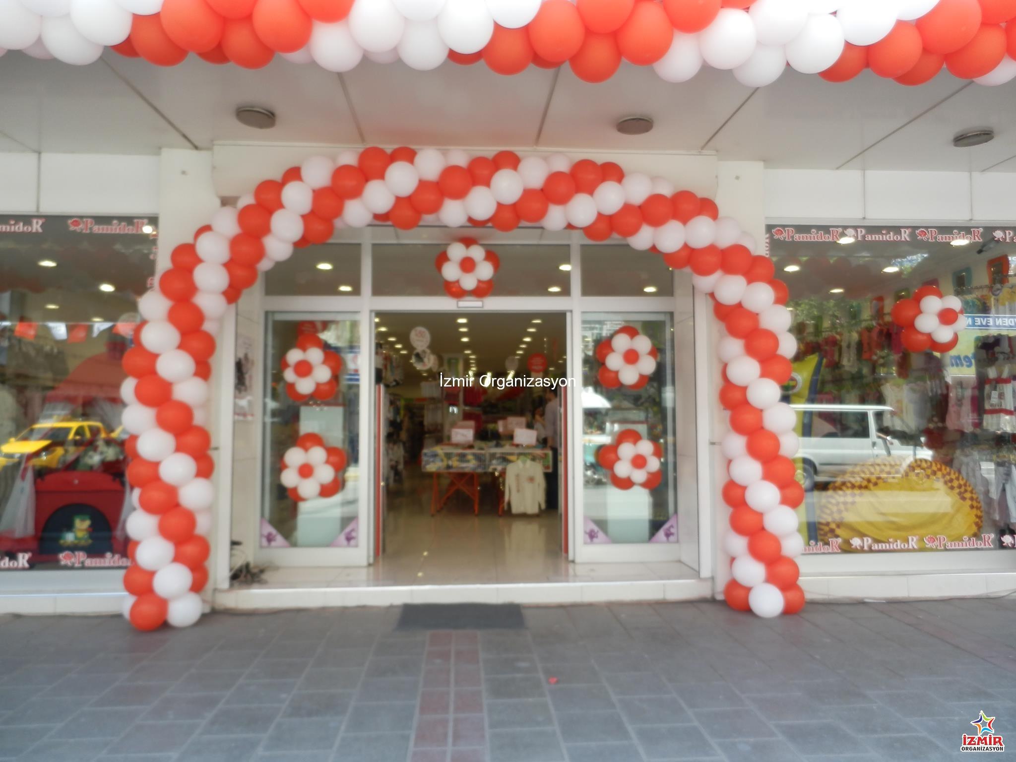 İzmir Papatya Balon Süsleme